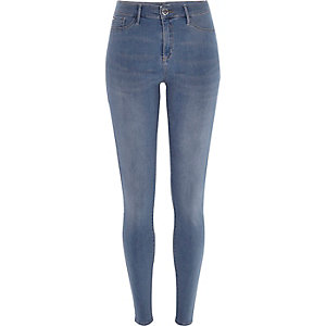 Smoky mid wash Molly jeggings