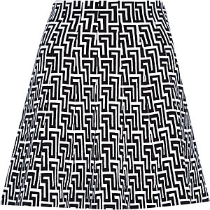 Black knitted flippy skirt