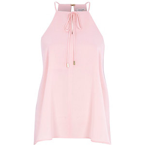 Light pink bow cami