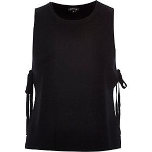 Black tie side top