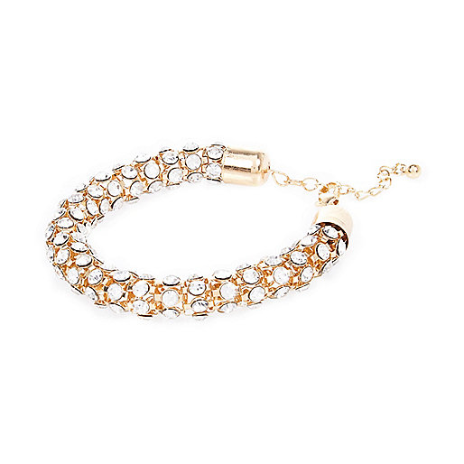 Armband mit Goldstruktur