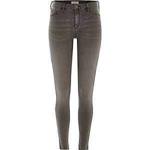 Grey wash Molly jeggings