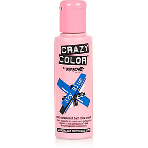 Blue Crazy Colour semi permanent hair dye