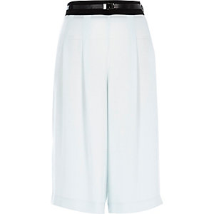 Light blue smart culottes