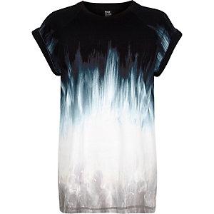 White Design Forum faded print t-shirt