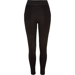 Black high waisted leggings