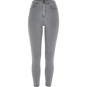 Grey high waisted Molly jeggings