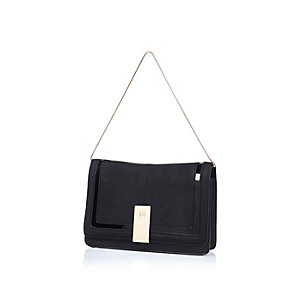 Black underarm bag