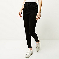 Jegging Molly noir taille haute