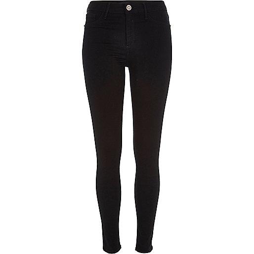Molly - Kleine schwarze Jeans