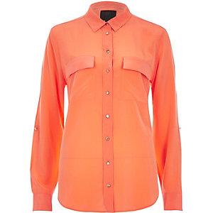 Coral RI Studio pure silk shirt