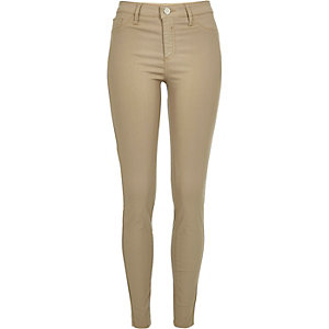 Dark beige Molly jeggings