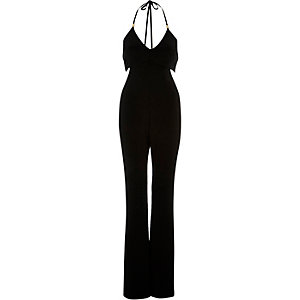 Black smart jumpsuit