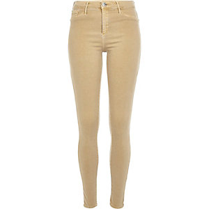 Sand beige Molly reform jeggings