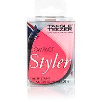 Pink Tangle Teezer hairbrush