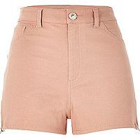 Light pink high waisted Nori shorts