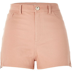 Light pink high waisted Nori shorts