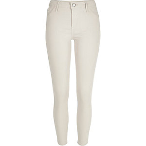 White Amelie superskinny jeans