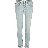 Light wash Matilda skinny jeans