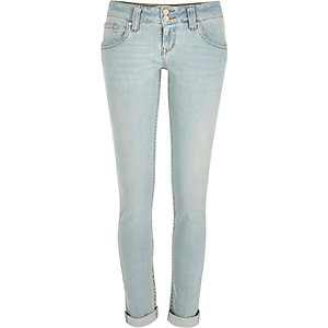 Light wash Matilda skinny jeans