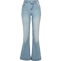 Light wash Suzie flare jeans