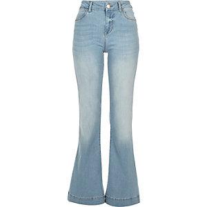 Light wash Suzie flare jeans