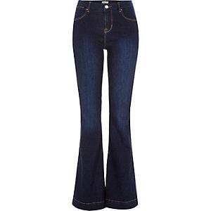 Dark wash Suzie flare jeans