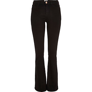Black Molly reform flare jeggings