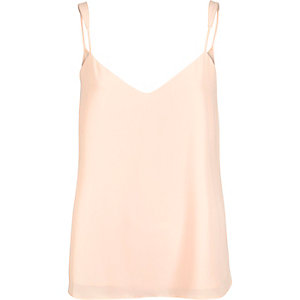 Light pink V-neck cami