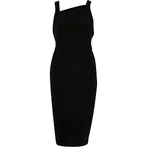 Black back detail bodycon dress