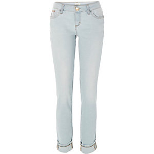 Light wash Daisy slim jeans