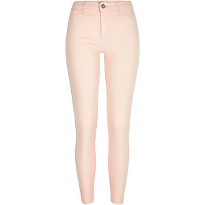 Peach pink Molly jeggings