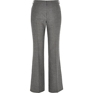 Grey RI Studio wool-blend flare pants