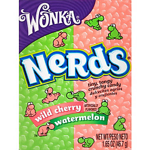 Nerds wild cherry and watermelon sweets