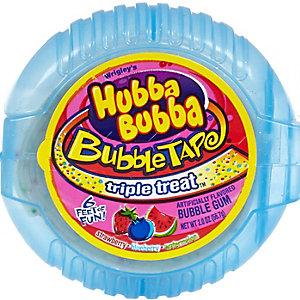 Hubba Bubba triple treat bubble gum tape