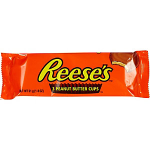 Reese's peanut butter cups three pack
