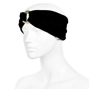 Black Velvet Turband