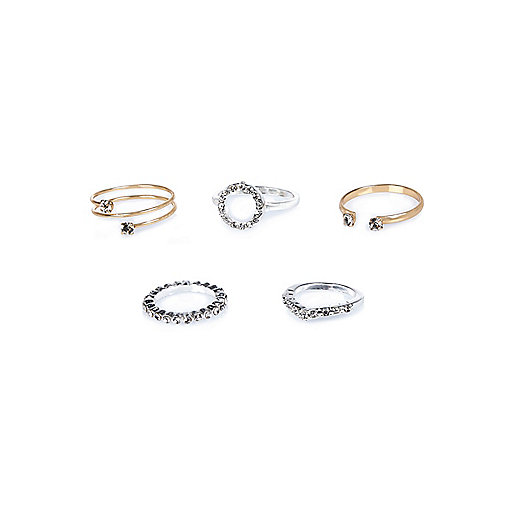 Mixed delicate rings pack