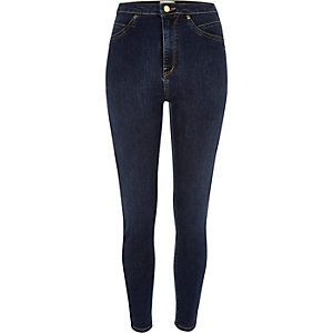Dark wash high waisted Molly jeggings