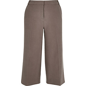 Light brown smart culottes