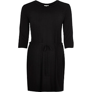Black belted  tunic