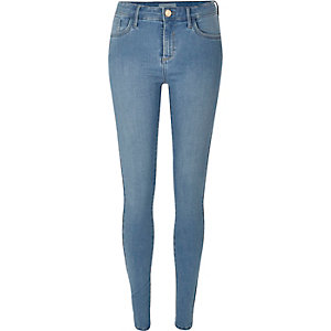 Light wash Amelie superskinny jeans