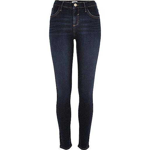 Amelie – Super Skinny Jeans in dunkler Waschung