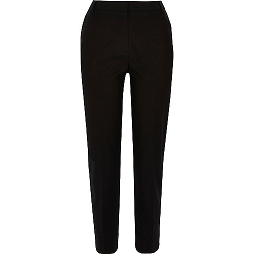 Pantalon slim noir