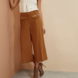 Orange RI Studio cropped trousers