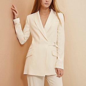 Cream RI Studio tux jacket