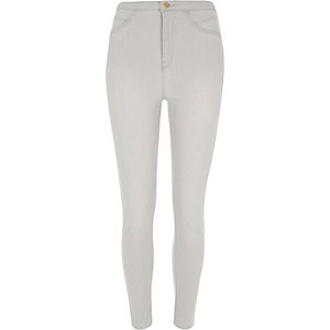 Grey high rise Molly jeggings