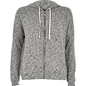 Grey slouchy hoodie