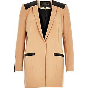 Camel smart long jacket
