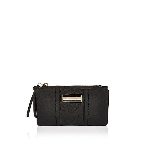 Black fold out purse